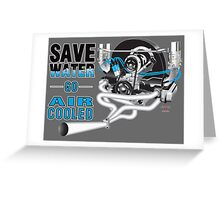 Drought solution Greeting Card