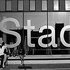 Stad Leuven by dijle