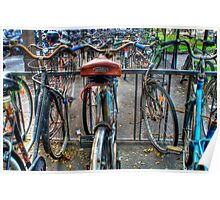 Parking of bicycles  Poster