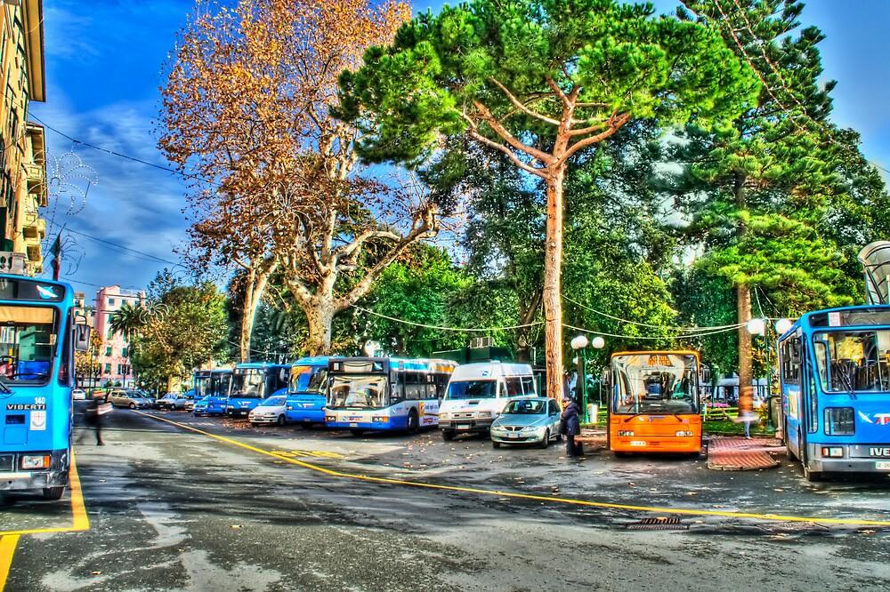 Bus station by oreundici