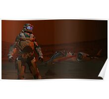 COMMAND THIS IS PATROL  T31  REPORTING  THERE IS NO ACTIVITY  HERE AT  THE RED SAND BASE I AM AWAITING ORDERS   Poster
