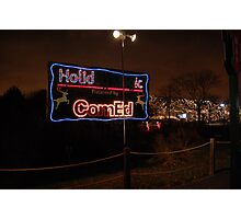 Festival of Lights - Lights go out for Commonwealth Edision  Photographic Print