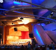 Harris Theater in Millenium Park, Downtown Chicago by DianeBUhlman