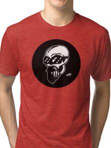 Shaded Skull Tri-blend T-Shirt