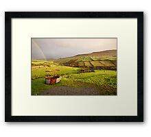 A pot of gold in the fields of Kerry Framed Print
