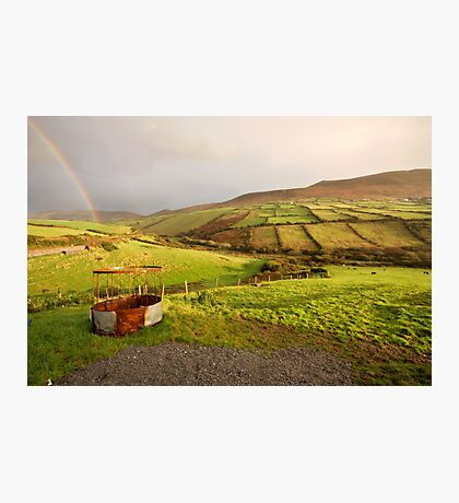 A pot of gold in the fields of Kerry Photographic Print