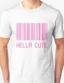 Hella Cute Barcode Unisex T-Shirt