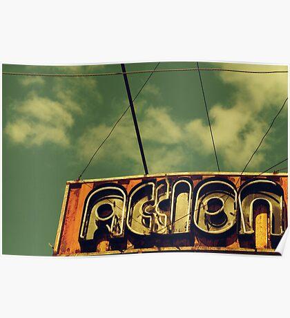 Accion - Latin America Poster