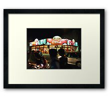 After Dark - Latin America Framed Print