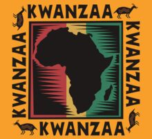 Kwanzza T-Shirts by HolidayT-Shirts