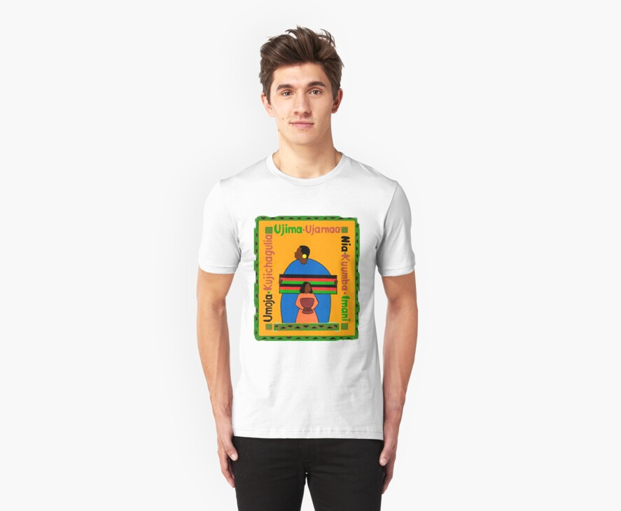 Kwanzaa Ujima T-Shirt by HolidayT-Shirts