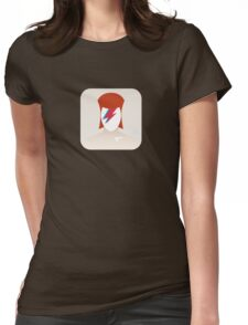 There's an app for that Aladdin Sane Womens Fitted T-Shirt