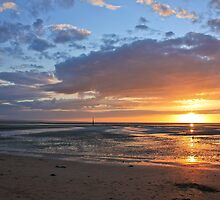 Sunset in Normandy by Julien Tordjman