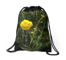 Yellow Cup Drawstring Bag