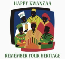 Happy Kwanzaa T-Shirts by HolidayT-Shirts