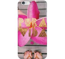 PURA VIDA 3 iPhone Case/Skin
