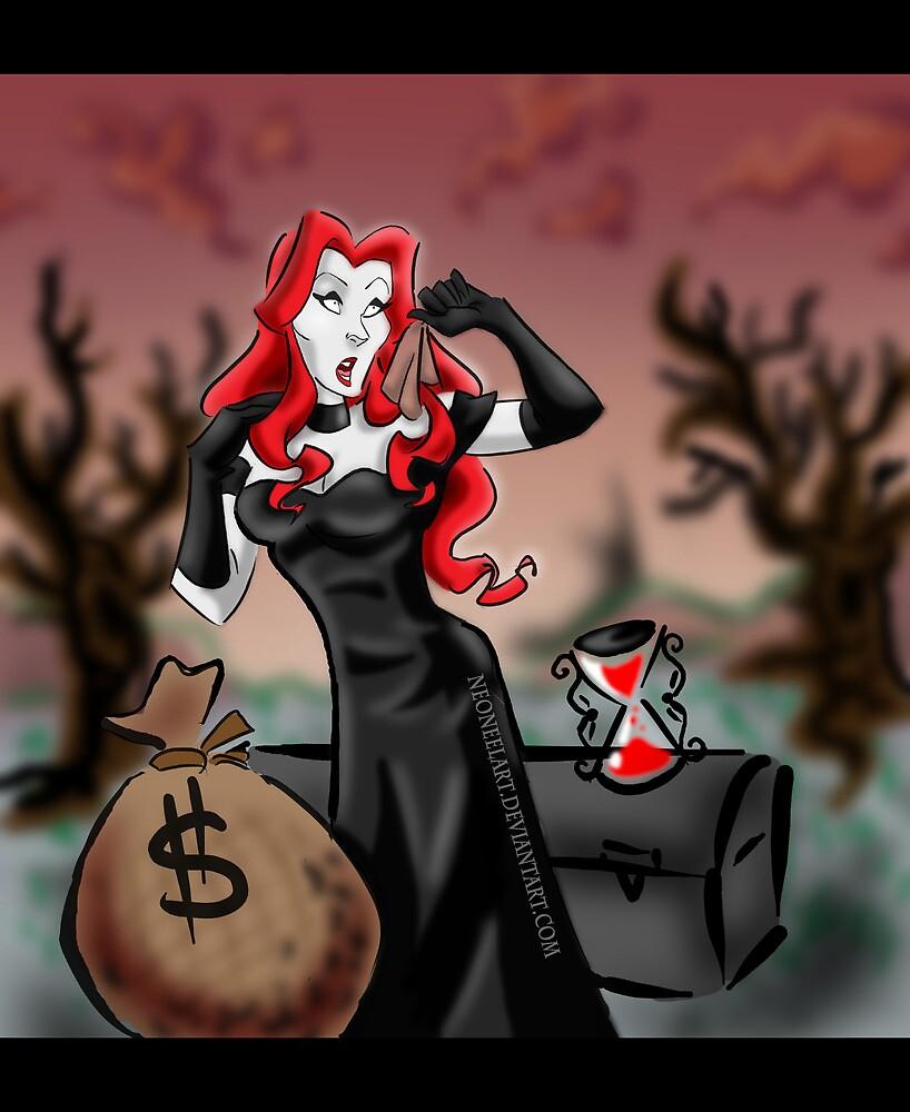Black Widow by Neoneelart