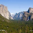 Yosemite Valley by William Hackett