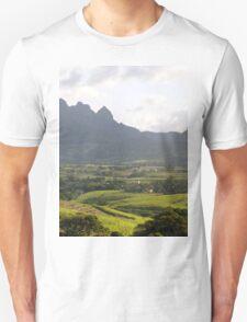 a large Swaziland  landscape T-Shirt