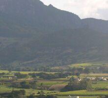a large Swaziland  landscape Sticker