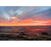 Pink as the nights sky. Photographic Print
