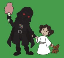 Darth Father and Daughter One Piece - Short Sleeve