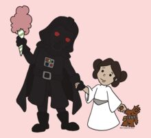 Darth Father and Daughter Kids Tee