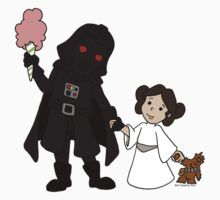 Darth Father and Daughter by beckadoodles