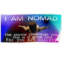 I Am Nomad. Poster