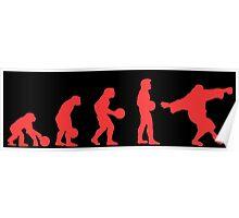 Lebowki evolution red Poster