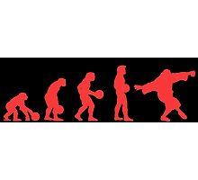 Lebowki evolution red Photographic Print