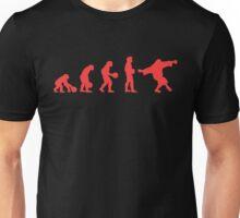 Lebowki evolution red Unisex T-Shirt
