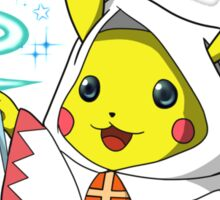 White Mage Pikachu Sticker
