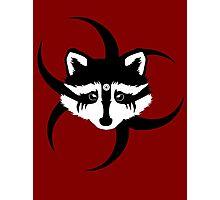 Lexa - Commander Raccoon Eyes Photographic Print