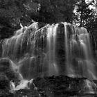 Cascading Brook by Jeff Palm Photography