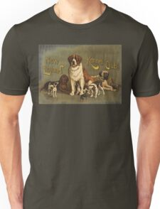 New England Kennel Club Vintage painting Unisex T-Shirt