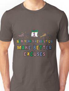 "New Years Resolution ""Eat Desert First"" T-Shirts Unisex T-Shirt"