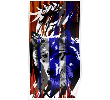 wolf wild Poster