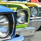 Vintage cars by Jeannine St-Amour