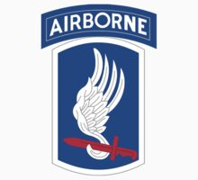 173rd Airborne Patch by Walter Colvin