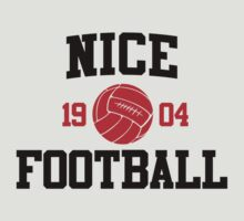 Nice Football Athletic College Style 2 Gray by Toma-51