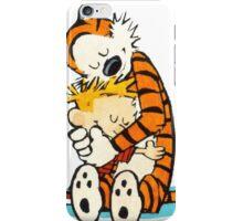 calvin and hobbes cartoon iPhone Case/Skin