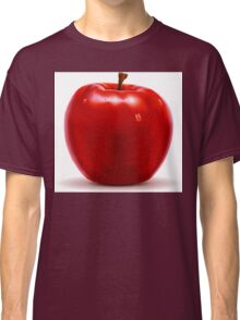 Red Apple Isolated on White Classic T-Shirt