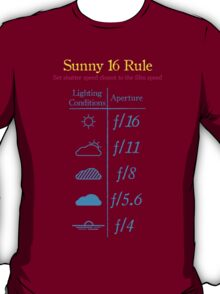 Sunny 16 Rule - Special Edition T-Shirt