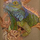 RC the Iguana by Rhonda  Anderson