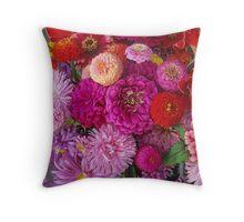 Fiesta Flora, September First  #4 Throw Pillow