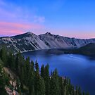 Morning at Crater Lake by Anne McKinnell