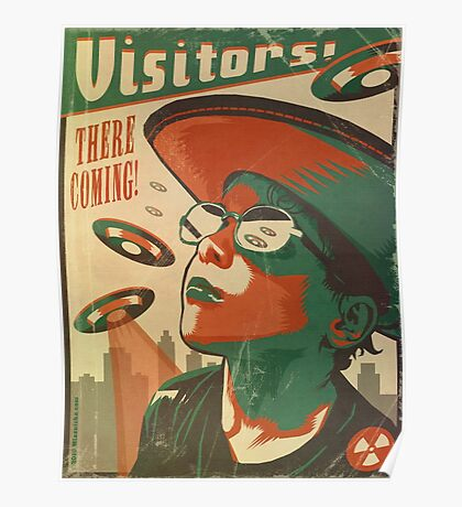 Visitors Poster