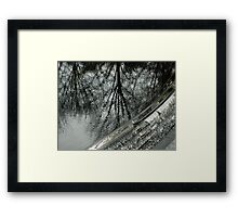 Reflections, Korean War Memorial Pool Framed Print