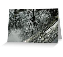 Reflections, Korean War Memorial Pool Greeting Card